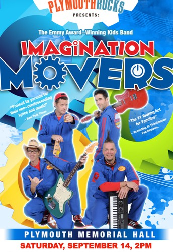 Imagination Movers Returns to Plymouth!