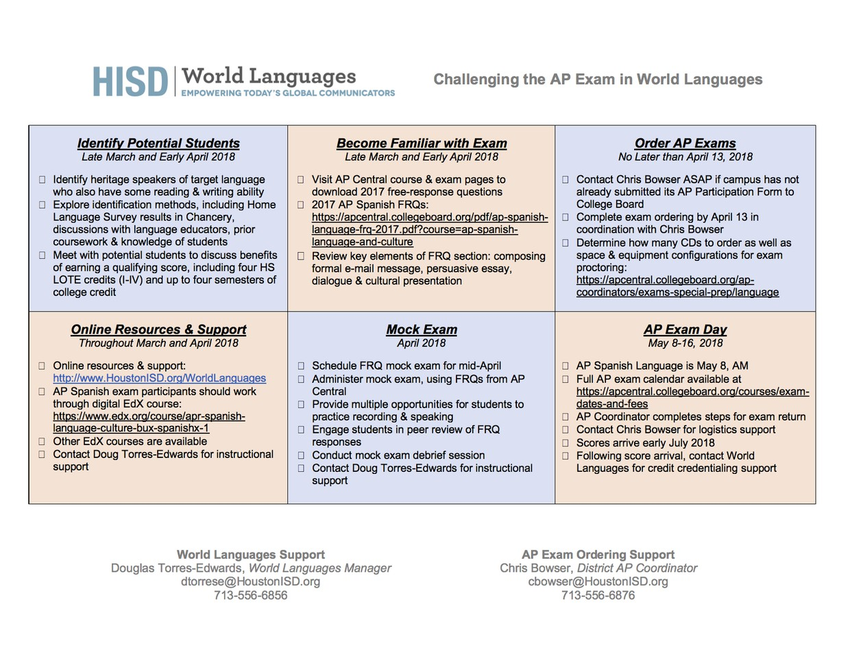 HISD World Languages | Smore Newsletters