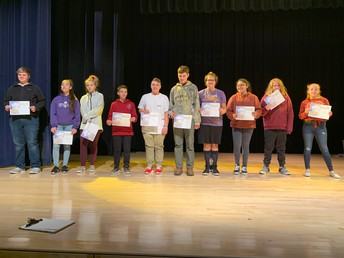8th grade Second Honors