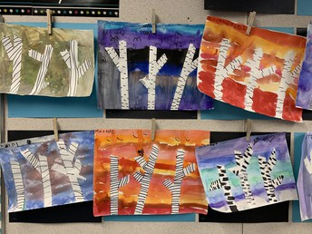 Winter art from 1/2F
