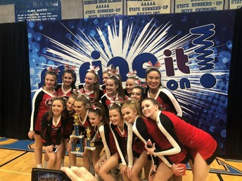 CONGRATULATIONS TO OUR CHS CHEER TEAM!!!!