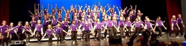 Sixth Grade Show Choir Pups