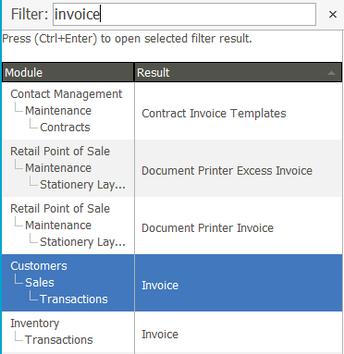 Filter Screens
