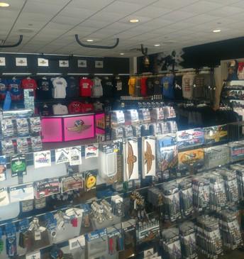 Inside of gift shop
