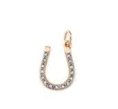 gold horseshoe charm