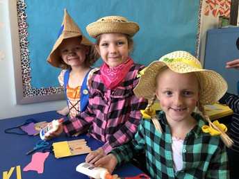 Scarecrow Day in First Grade