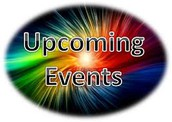 Upcoming Events / Dates to Remember
