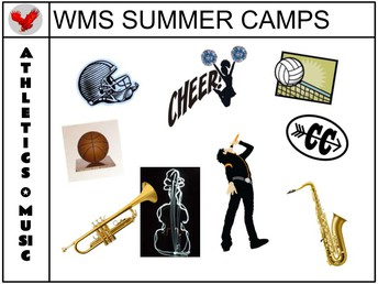 SUMMER CAMP OPPORTUNITIES FOR OUR STUDENTS!