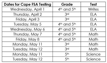FSA Dates for 2020-Mark Your Calendars Now!