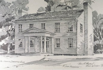 The History of the Colonel Davenport House