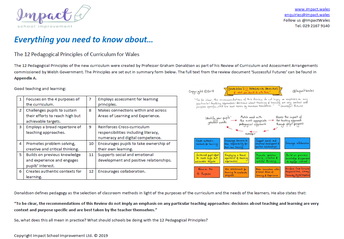 Everything you need to know about the 12 Pedagogical Principles