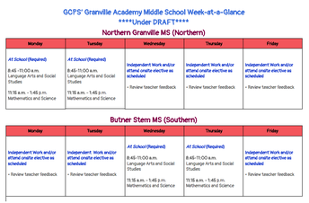MS Week-at-a-Glance
