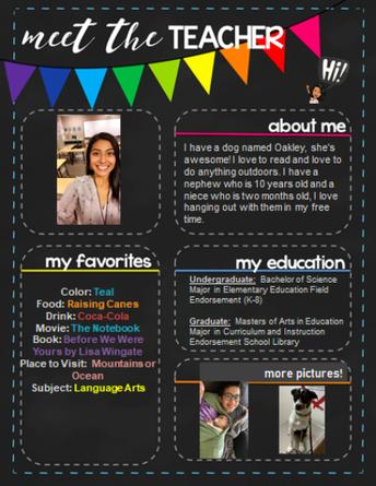 Welcome Ms. Hillary Ibarra - New Rockbrook 6th Grade Teacher