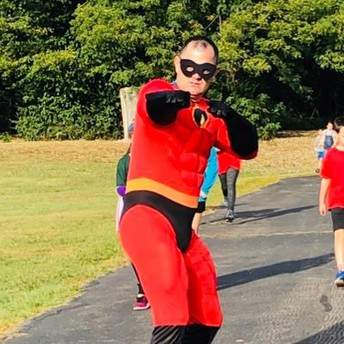 Super Hero Walkathon