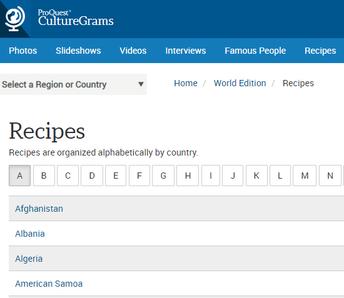 Step 3: Explore Recipes!