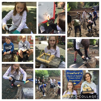 Class 4 get their teeth into outdoor learning