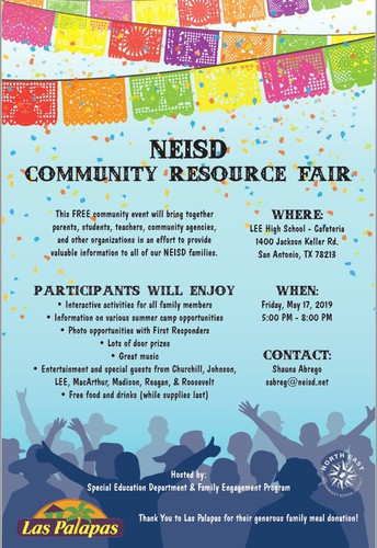 NEISD Community Resource Fair: Open to the Community!