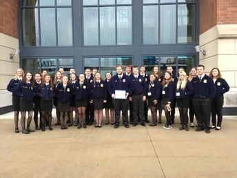 High School FFA Members