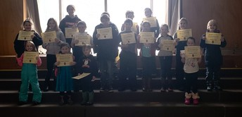 IVES Perfect Attendance--January