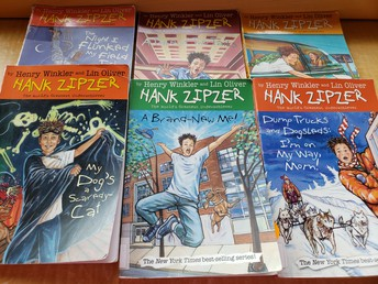 Hank Zipper by Henry Winkler and Lin Oliver
