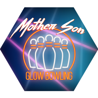 Mother Son Glow Bowling Bash