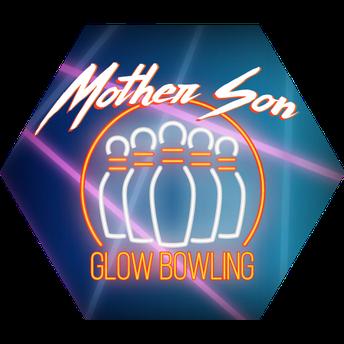 Mother Son Glow Bowling Bash