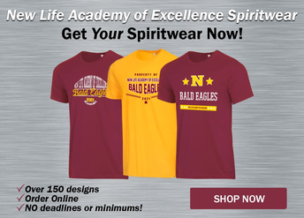 Welcome to our spiritwear store! Open All Year Long!