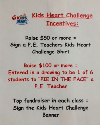 The Kid's Heart Challenge in PE at WHS