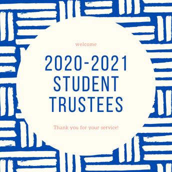 2020-2021 Student Trustees