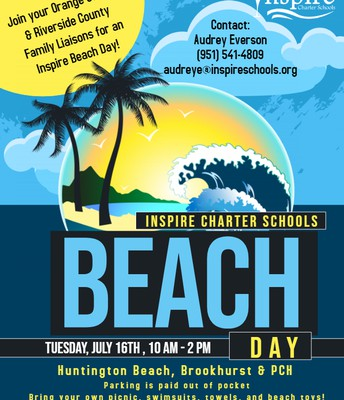 Inspire's Summer Beach Days! HUNTINGTON BEACH