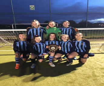 Year 9 District 6-a-side tournament winners
