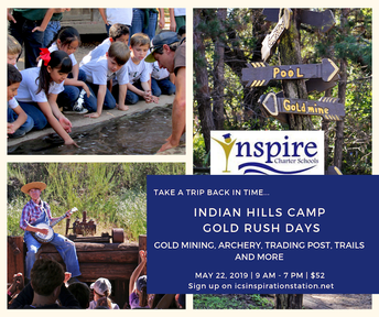 Indian Hills Camp Gold Rush Days Field Trip