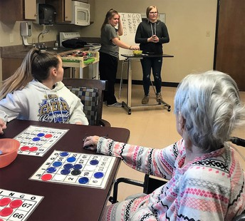 FCCLA visits Riverview Manor