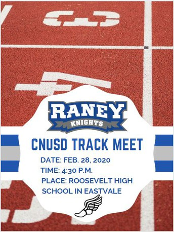 CNUSD Intermediate Track  Meet