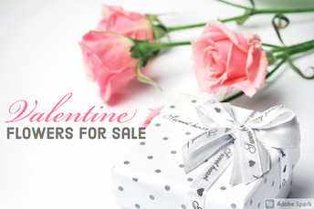 Valentine Flower Sale