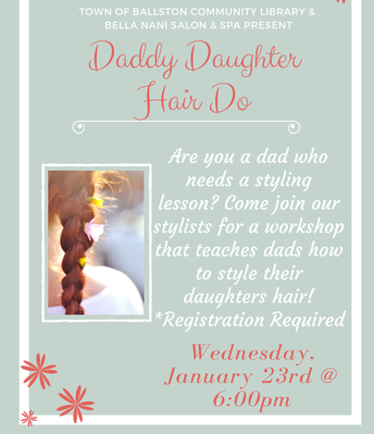 Daddy Do - A Daddy-Daughter Hair Style Class