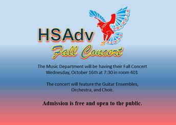 Advancement Fall Concert