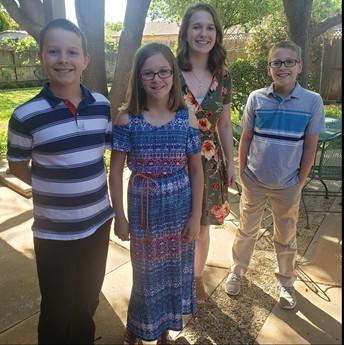 Dakota, Cheyenne, Alexis, & Anthony