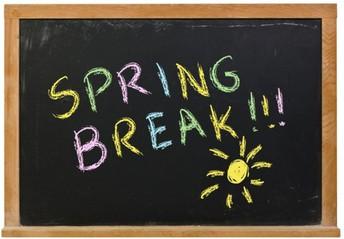 Spring Break Preparations...