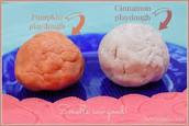 Try pumpkin or cinnamon playdough.