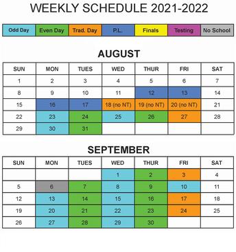 Mark Your Calendar (updates)