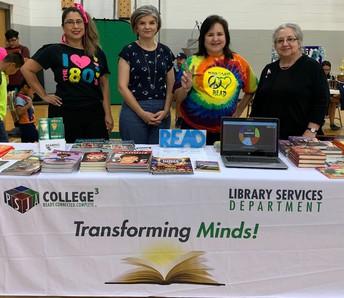 Anaya, PSJA Collegiate HS, Southwest ECHS & Palacios Librarians