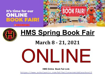 Book fair is still going!