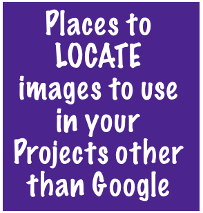 Places to find images other than just using Google!!