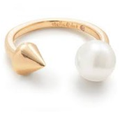 Pearl Spike Ring (M/L)