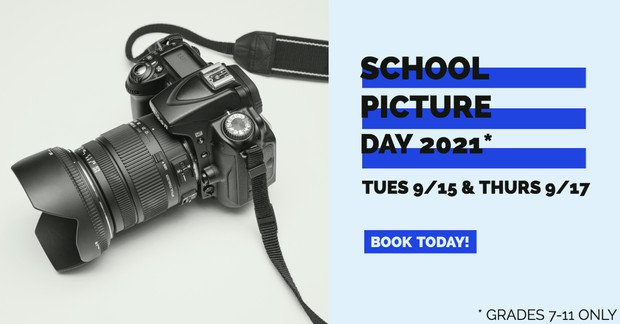 Click Here to Schedule Your School Picture