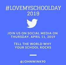 #lovemyschoolday-Reminder
