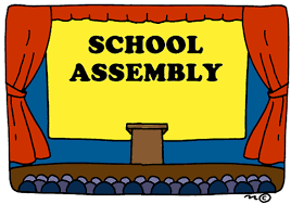 Message from Counselor about Assemblies