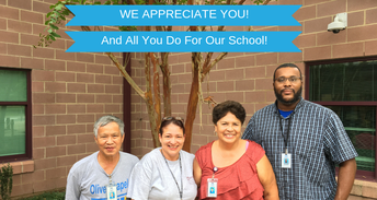 Thank you to our amazing and dedicated Custodial Staff!