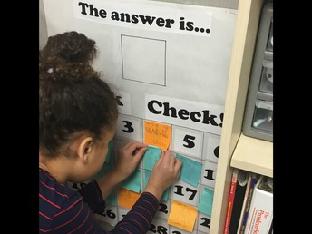 Students do quick checks to help teachers best meet individual needs.